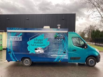 camionEtwas Mobile Location Food Truck Strasbourg, Alsace